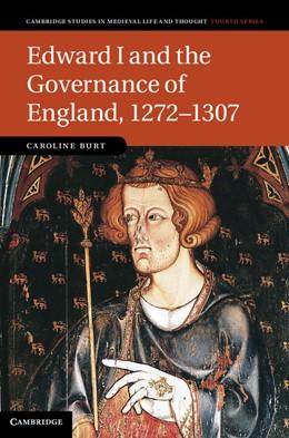 Abbildung von Burt | Edward I and the Governance of England, 1272–1307 | 2012 | 85