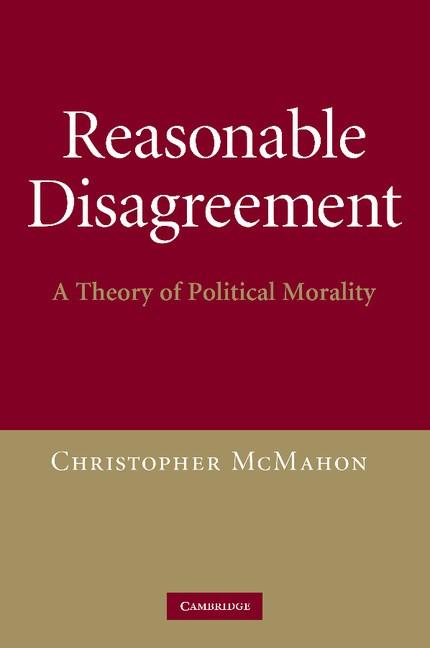 Abbildung von McMahon | Reasonable Disagreement | 2012