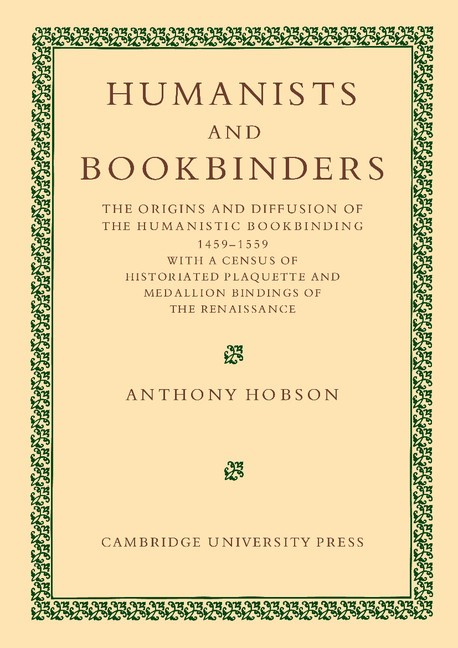 Abbildung von Hobson | Humanists and Bookbinders | 2012