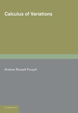 Abbildung von Forsyth | Calculus of Variations | 2012