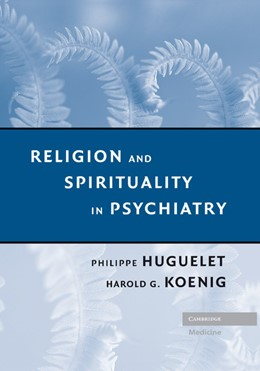 Abbildung von Huguelet / Koenig | Religion and Spirituality in Psychiatry | 2012