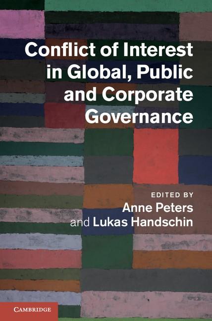 Abbildung von Peters / Handschin | Conflict of Interest in Global, Public and Corporate Governance | 2012