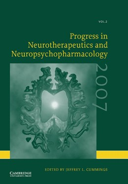 Abbildung von Cummings | Progress in Neurotherapeutics and Neuropsychopharmacology: Volume 2, 2007 | 2012