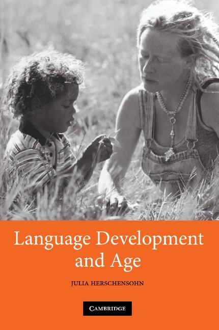 Abbildung von Herschensohn | Language Development and Age | 2012