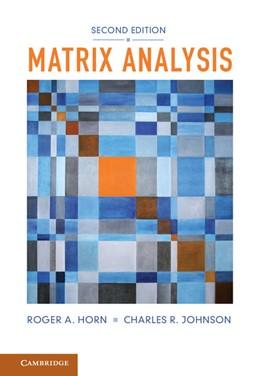 Abbildung von Horn / Johnson | Matrix Analysis | 2012