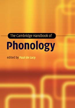 Abbildung von Lacy | The Cambridge Handbook of Phonology | 2012
