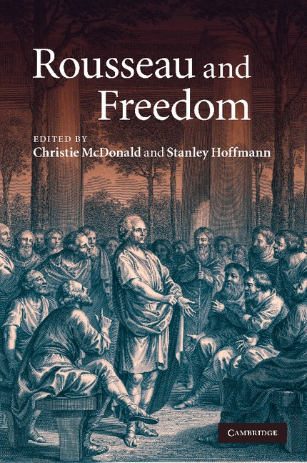 Abbildung von McDonald / Hoffmann   Rousseau and Freedom   2012