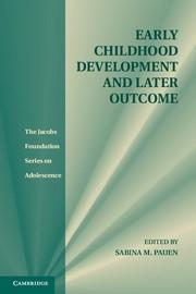 Abbildung von Pauen | Early Childhood Development and Later Outcome | 2012