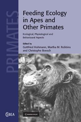 Abbildung von Hohmann / Robbins / Boesch   Feeding Ecology in Apes and Other Primates   2012