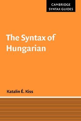 Abbildung von Kiss   The Syntax of Hungarian   2002
