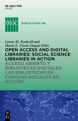 Abbildung von Rudasill / Dorta-Duque | Open Access and Digital Libraries | 1. Auflage | 2013 | beck-shop.de