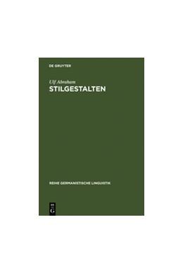 Abbildung von Abraham | StilGestalten | Reprint 2012 | 1996 | Geschichte und Systematik der ... | 161