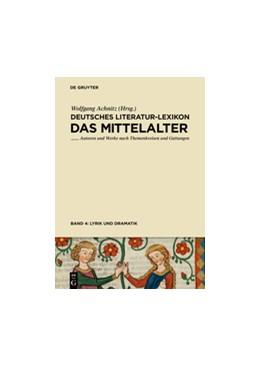 Abbildung von Achnitz | Lyrik (Minnesang - Sangspruch - Meistergesang) und Dramatik | 2012 | Das Mittelalter. Autoren und W...