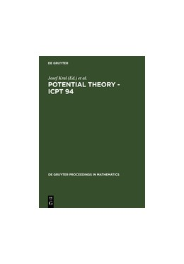 Abbildung von Kral / Lukes / Netuka / Vesely | Potential Theory - ICPT 94 | Reprint 2011 | 1996 | Proceedings of the Internation...