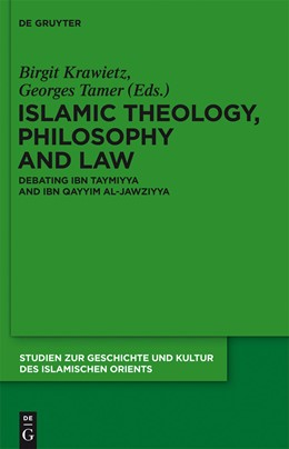 Abbildung von Krawietz / Tamer   Islamic Theology, Philosophy and Law   2013