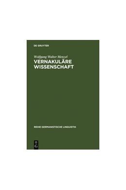 Abbildung von Menzel   Vernakuläre Wissenschaft   Reprint 2011   1996   Christian Wolffs Bedeutung für...   166