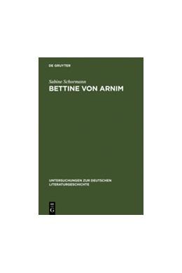 Abbildung von Schormann | Bettine von Arnim | Reprint 2011 | 1993 | Die Bedeutung Schleiermachers ... | 66