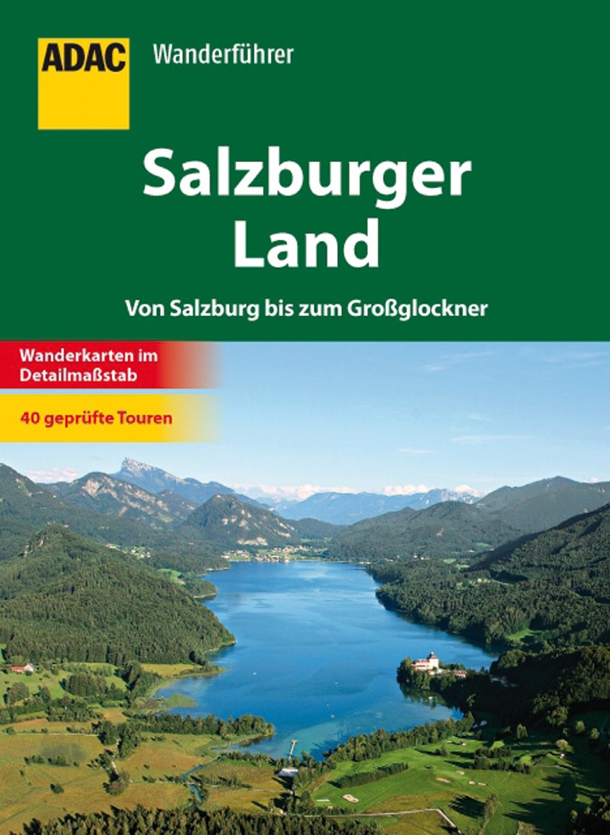 ADAC Wanderführer Salzburger Land, 2012 | Buch (Cover)