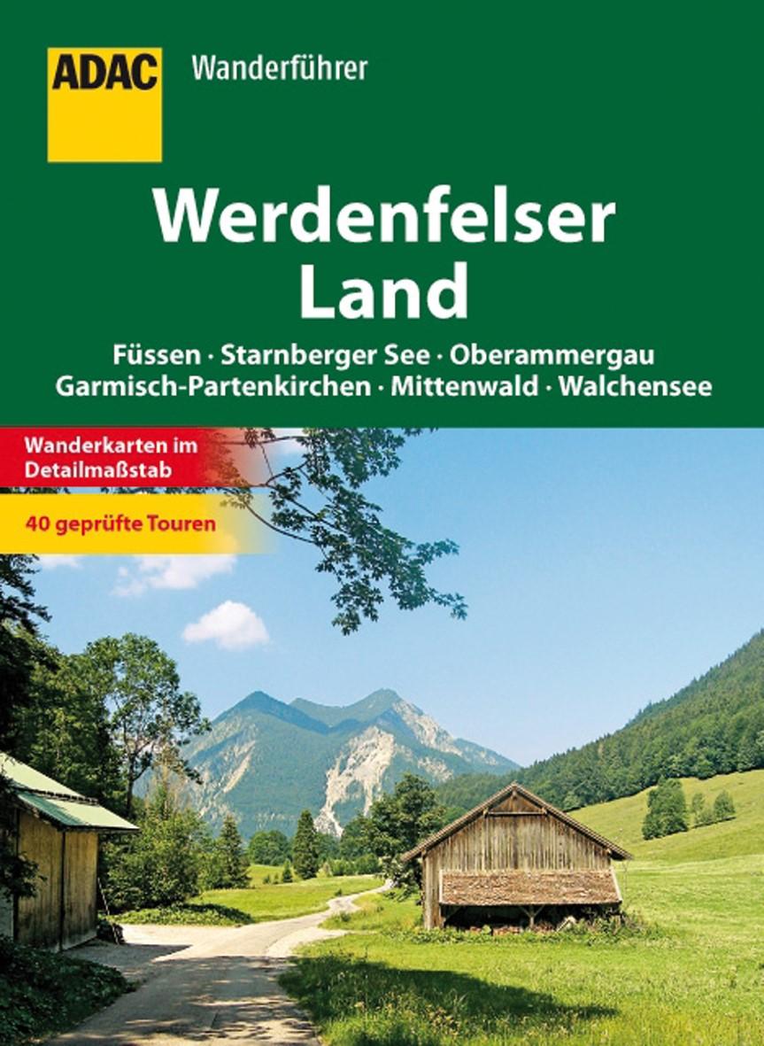 ADAC Wanderführer  Werdenfelser Land, 2012   Buch (Cover)