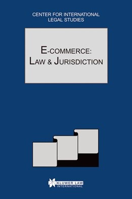Abbildung von Campbell / Woodley | E-Commerce: Law and Jurisdiction | 2002 | The Comparative Law Yearbook o...