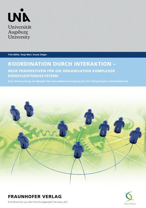 Abbildung von Böhle /  / Merl | Koordination durch Interaktion - Neue Perspektiven für die Organisation komplexer Dienstleistungssysteme | 2012