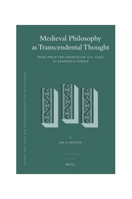 Abbildung von Aertsen | Medieval Philosophy as Transcendental Thought | 2012 | From Philip the Chancellor (ca... | 107