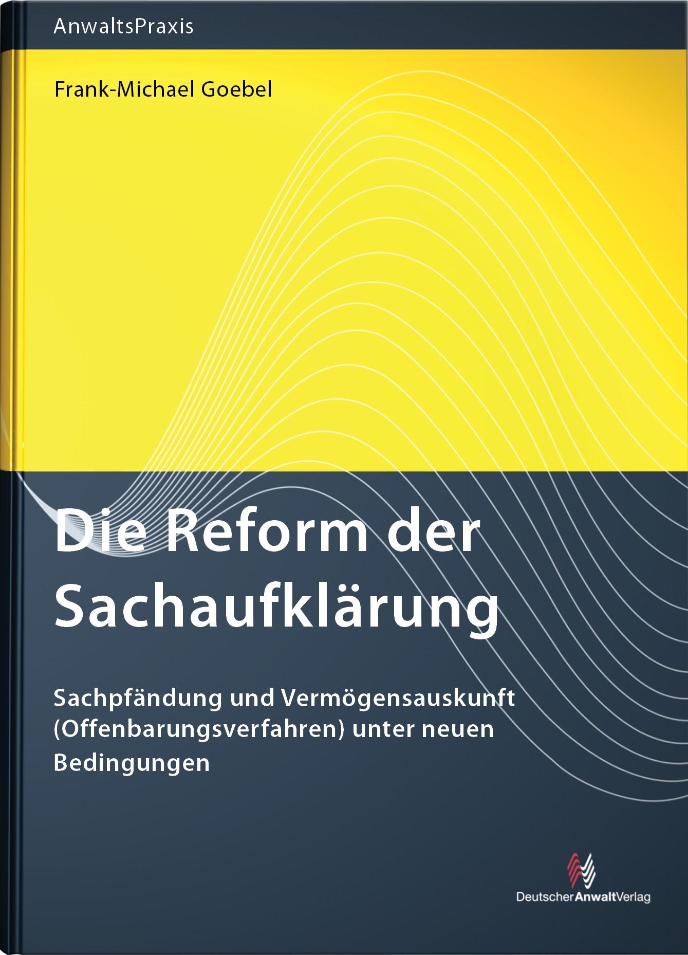 Die Reform der Sachaufklärung | Goebel, 2012 | Buch (Cover)