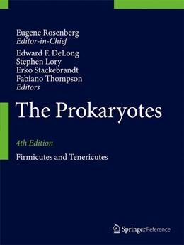 Abbildung von DeLong / Lory | The Prokaryotes | 4. Auflage | 2014 | beck-shop.de