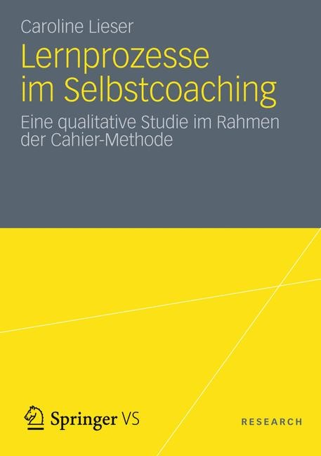 Lernprozesse im Selbstcoaching   Lieser, 2012   Buch (Cover)