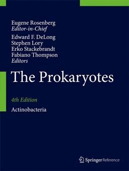 Abbildung von DeLong / Lory   The Prokaryotes   4. Auflage   2014   beck-shop.de