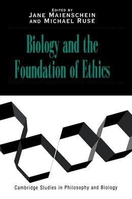 Abbildung von Maienschein / Ruse | Biology and the Foundations of Ethics | 1999