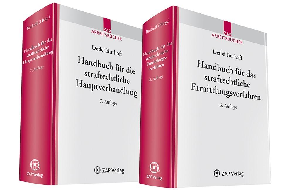 Kombiangebot Strafverfahren | Burhoff (Hrsg.) (Cover)
