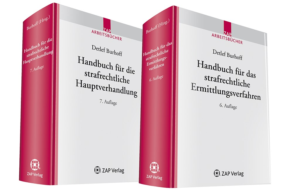 Kombiangebot Strafverfahren | Burhoff (Hrsg.) | 6. und 7. Auflage, 2012 (Cover)