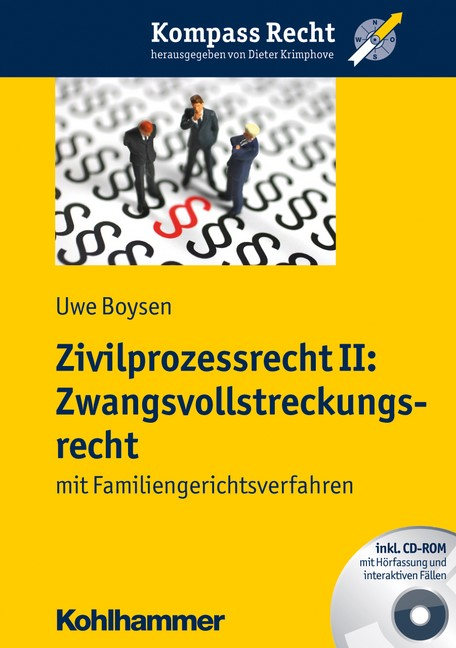 Zivilprozessrecht II: Zwangsvollstreckungsrecht   Boysen, 2012 (Cover)