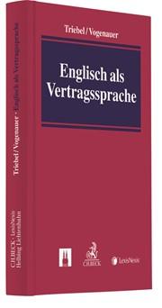 Englisch Als Vertragssprache Triebel Vogenauer 2018 Buch