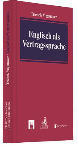 Abbildung von Triebel / Vogenauer | Englisch als Vertragssprache | 2018 | Fallstricke und Fehlerquellen