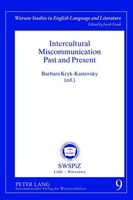 Abbildung von Kryk-Kastovsky | Intercultural Miscommunication Past and Present | 2012 | 9