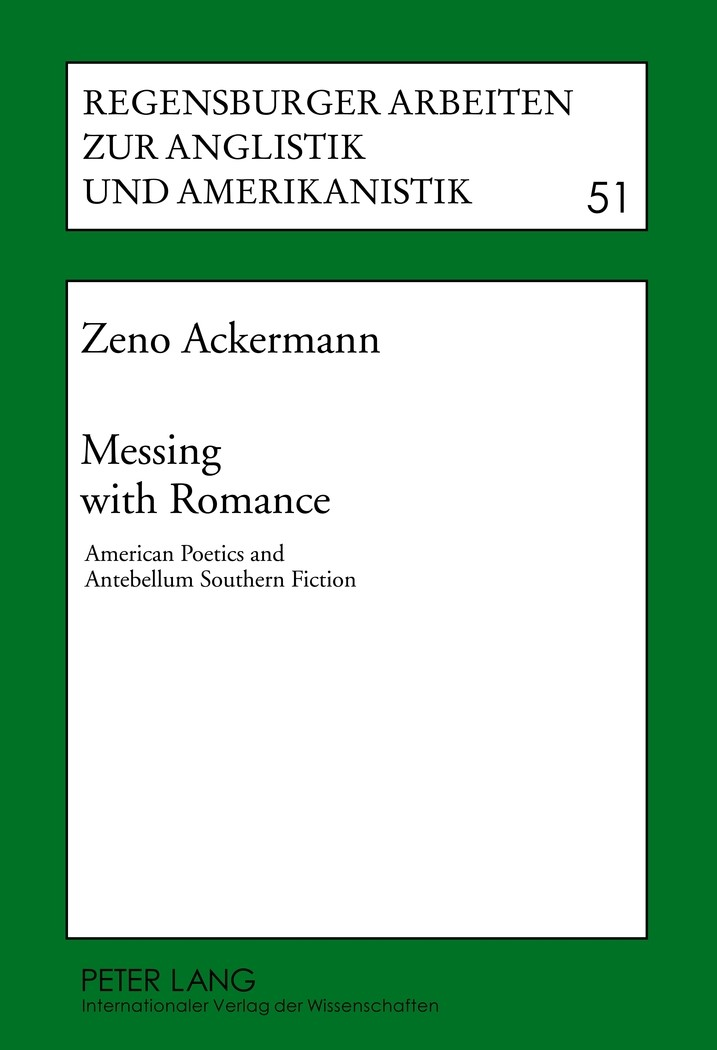 Messing with Romance | Ackermann, 2012 | Buch (Cover)