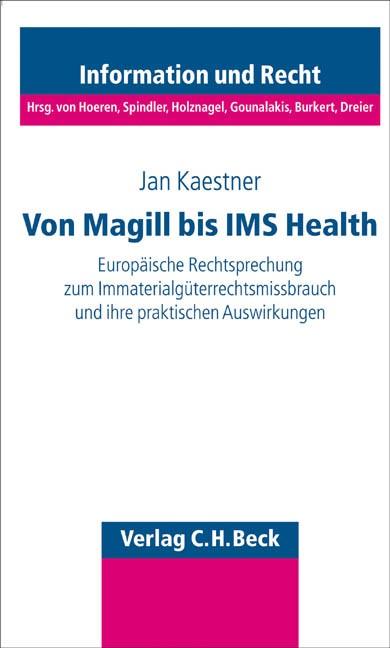 Missbrauch von Immaterialgüterrechten | Kaestner, 2005 | Buch (Cover)