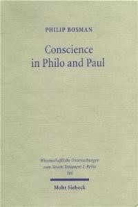 Conscience in Philo and Paul | Bosman, 2003 | Buch (Cover)