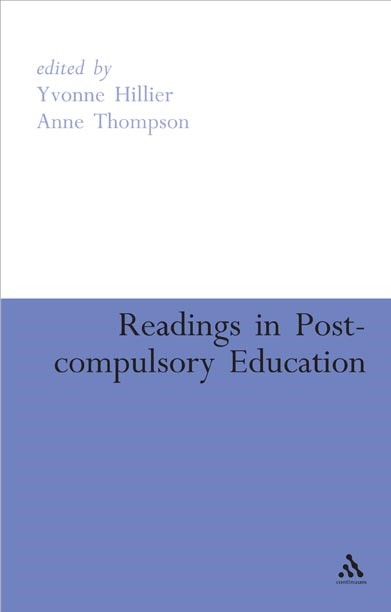 Abbildung von Hillier / Thompson | READINGS IN POST-COMPULSORY EDUCATION | 2007