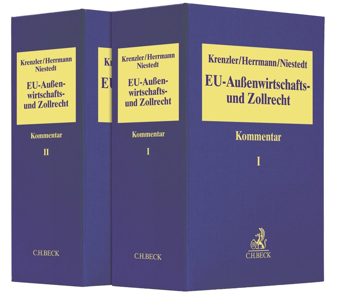 EU-Außenwirtschafts- und Zollrecht | Krenzler / Herrmann / Niestedt | 11. Auflage, 2018 (Cover)