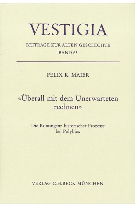Cover: Felix K. Maier, Überall mit dem Unerwarteten rechnen