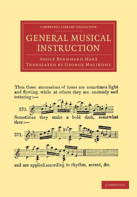 Abbildung von Marx | General Musical Instruction | 2012