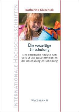 Abbildung von Kluczniok | Die vorzeitige Einschulung | 2012 | Eine empirische Analyse zum Ve... | 569