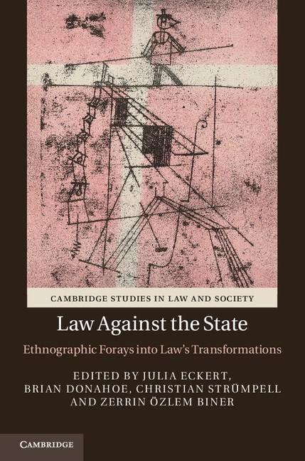 Abbildung von Eckert / Donahoe / Strümpell / Biner | Law against the State | 2012
