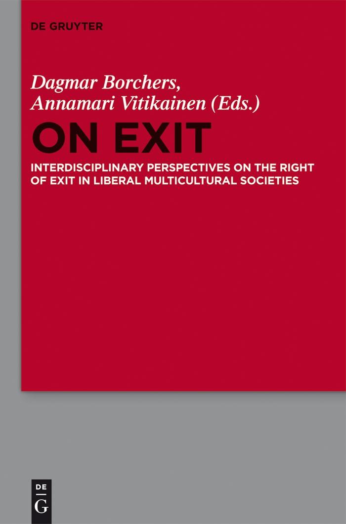 On Exit | Borchers / Vitikainen, 2016 | Buch (Cover)