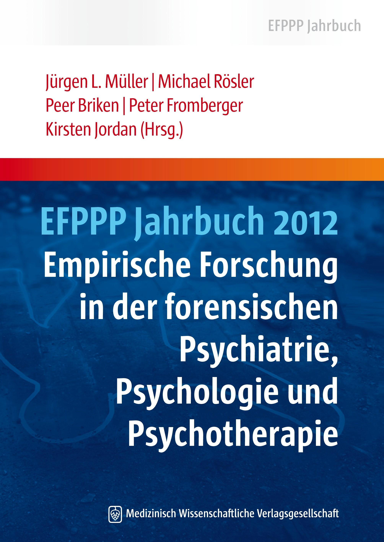 EFPPP Jahrbuch 2012 | Müller / Rösler / Briken / Fromberger / Jordan, 2012 | Buch (Cover)