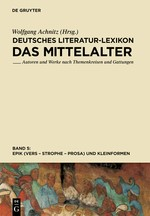 Epik (Vers - Strophe - Prosa), und Kleinformen | Achnitz, 2013 | Buch (Cover)
