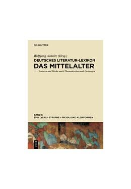 Abbildung von Achnitz | Epik (Vers - Strophe - Prosa), und Kleinformen | 1. Auflage | 2013 | beck-shop.de
